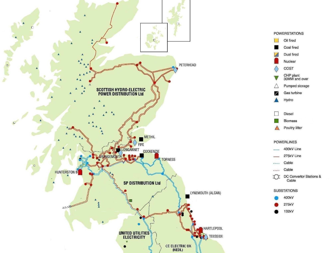 Map Of Uk Power Stations.Scotch On The Rocs Energy Matters