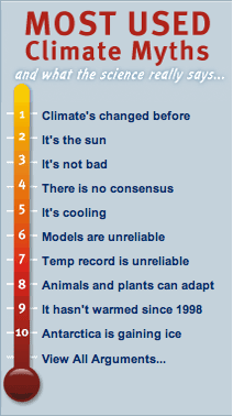 "This is the second post in the series rebutting John Cook's 10 most used  climate myths at Skeptical Science. Climate myth 2 ""Its the Sun""."