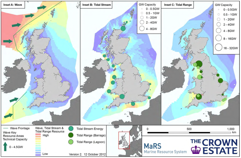 Map Of Uk Power Stations.The Meygen Tidal Stream Power Station Pentland Firth Scotland